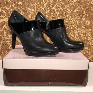 Bandolino Women's Leather Booties - BLACK Size 8